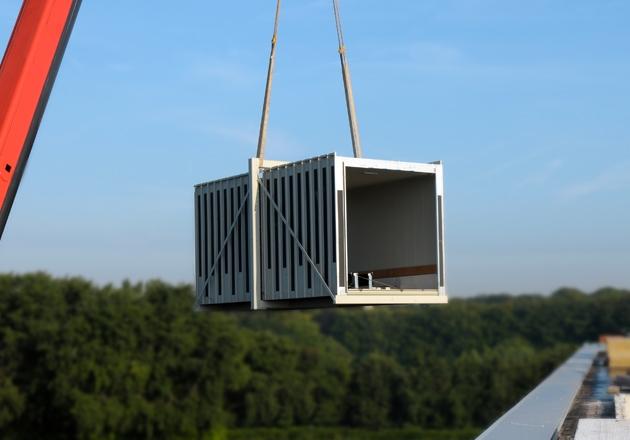 Lakeman Liften -  Lift Montage
